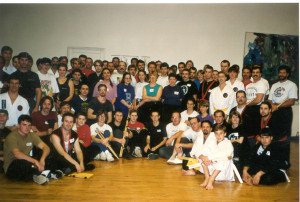 Group Training Camp for Arnis