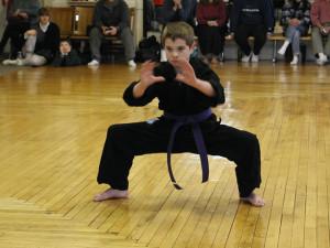 boy horse stance test jrroy martial arts