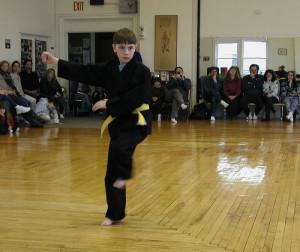 boy karate form test jrroy studio