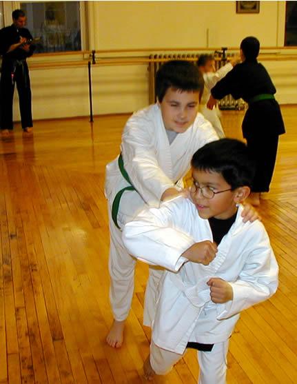 children karate class western mass