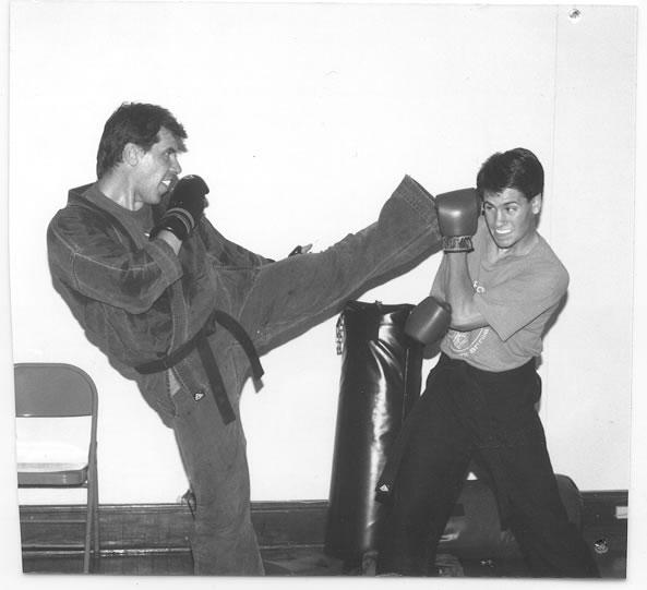 karate class sparring western mass