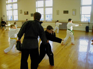 martial arts instruction for children