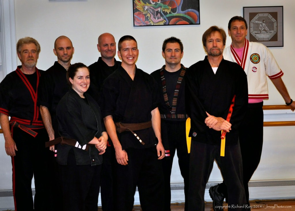 Martial Arts Test at JR Roy;s in Greenfield