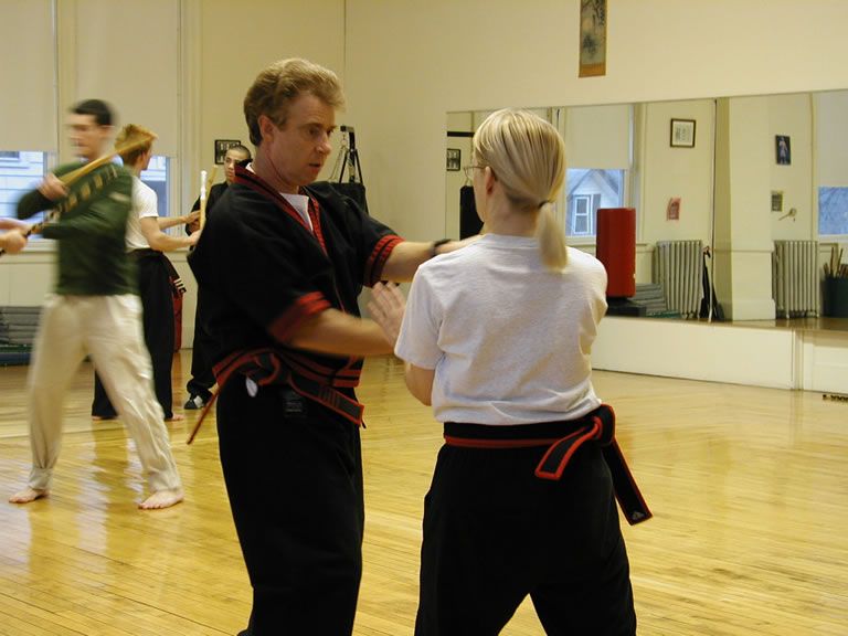 sifu roy arnis black belt instruction