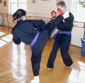 teen karate sparring western ma