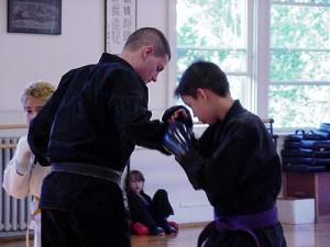 youth karate training