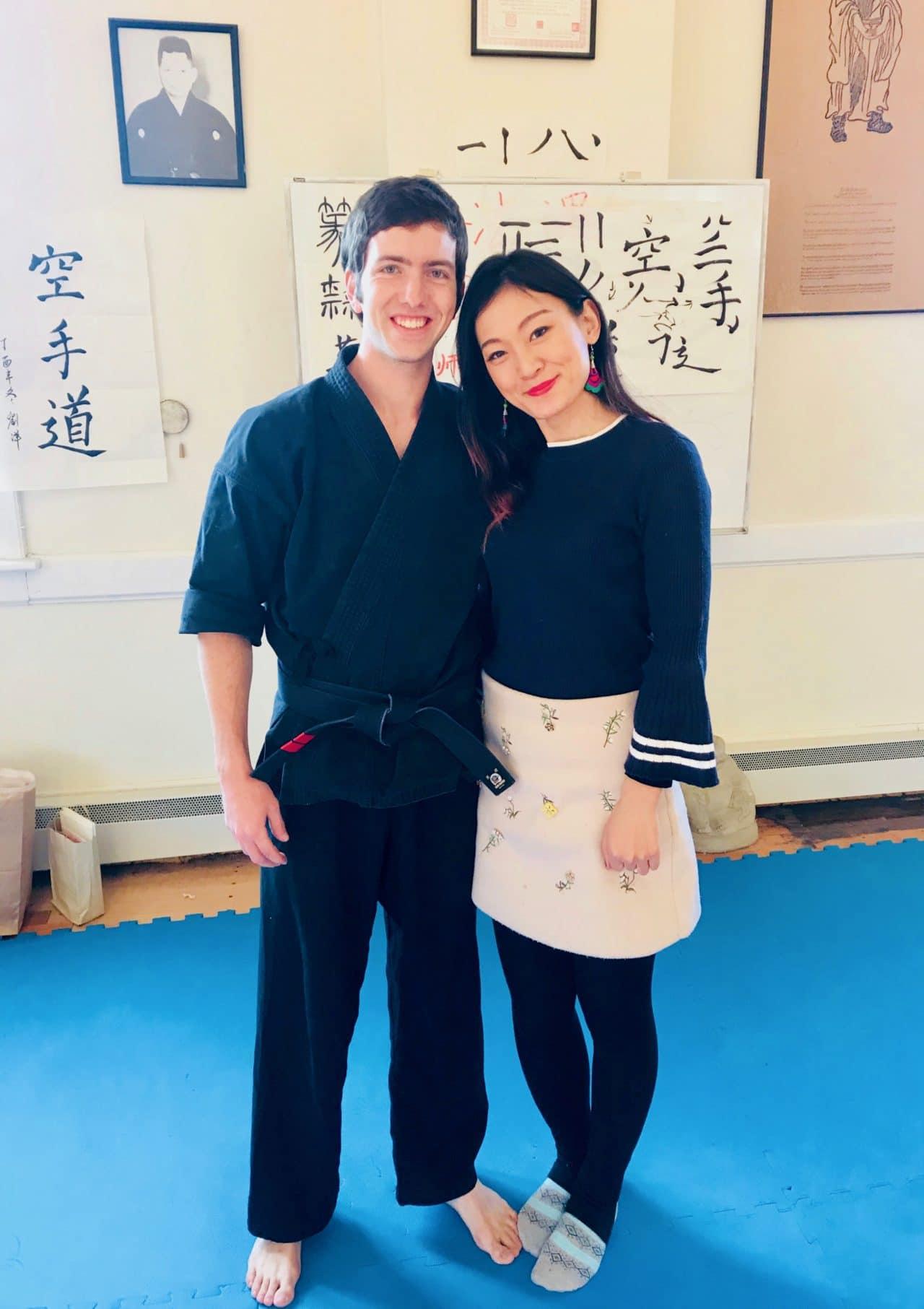 Ashley Liu and Jack Fox Calligraphy Teachers at JRRMAS